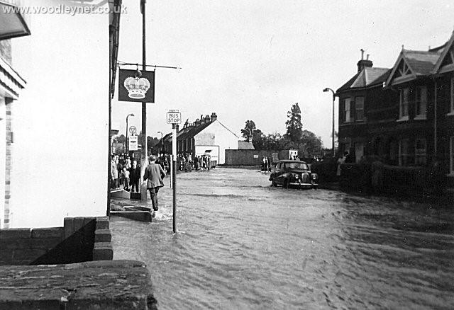 Photos Of Romsey Floods In 1960