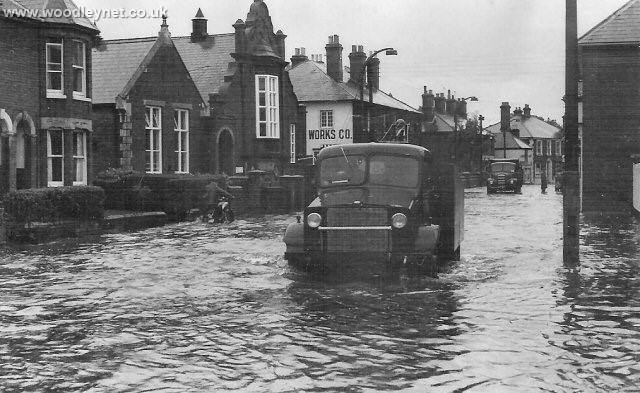 Photos Of Romsey Floods In 1960