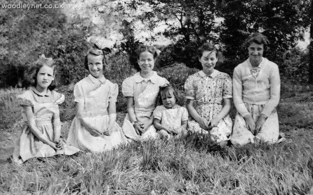 Some Young Ladies At Ganger Camp, Woodley Romsey